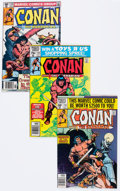 Modern Age (1980-Present):Miscellaneous, Conan the Barbarian Plus Boxes Group (Marvel, 1980-93) Condition: Average FN/VF.... (Total: 2 Items)