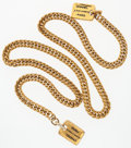 "Luxury Accessories:Accessories, Chanel 31 Gold Chain Rue Cambon Necklace. Good to Very Good Condition. 36"" Length. ..."