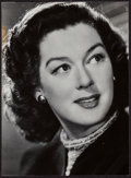 """Movie Posters:Miscellaneous, Rosalind Russell (1940s). Trimmed Portrait Photo (8"""" X 11""""). Miscellaneous.. ..."""