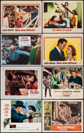 """Movie Posters:Western, True Grit and Others Lot (Paramount, 1969). Lobby Cards (8) (11"""" X 14""""). Western.. ... (Total: 8 Items)"""