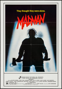 """Madman & Other Lot (Jensen Farley, 1981). One Sheets (2) (27"""" X 41""""). Horror. ... (Total: 2 Items)"""