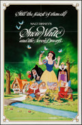 "Movie Posters:Animation, Snow White and the Seven Dwarfs (Buena Vista, R-1983). One Sheet(27"" X 41""). Animation.. ..."