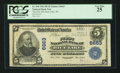 National Bank Notes:Wisconsin, Rice Lake, WI - $5 1902 Plain Back Fr. 598 The First NB Ch. # 6663. ...