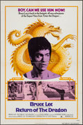 "Movie Posters:Action, Return of the Dragon (Bryanston, 1974). One Sheet (27"" X 41"").Action.. ..."