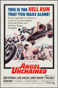 """Movie Posters:Exploitation, Angel Unchained (American International, 1970). One Sheet (27"""" X41""""). Exploitation.. ..."""