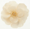 "Luxury Accessories:Accessories, Chanel White Camellia Pin. Excellent Condition. 4"" Widthx 3.5"" Height. ..."