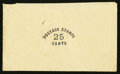 Large Size:Demand Notes, Anonymous POSTAGE STAMPS 25 CENTS. PE901. Extremely Fine. . ...