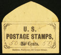 Large Size:Demand Notes, Embree Stationer 130 Grand Street (New York) 50 (mss) Cents. PE275.Extremely Fine.. ...