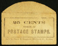 Large Size:Demand Notes, Snow & Hapgood 22 Court Street Boston 25 CENTS. PE699.Extremely Fine.. ...