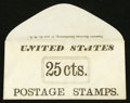 Large Size:Demand Notes, Excelsior Envelope Manufactory 51 Ann St. NY 25 cts. PE283. ChoiceNew.. ...