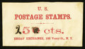 Large Size:Demand Notes, BROAS' EXCHANGE 106 Vesey Street NY 25 (mss) cts. PE157. . ...