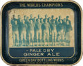Football Collectibles:Others, 1931 Green Bay Packers Pale Dry Ginger Ale Tray....