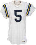 Football Collectibles:Uniforms, 1977-80 Kenny Easley Game Worn UCLA Bruins Jersey, MEARS A10....