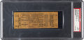 Football Collectibles:Tickets, 1945 NFL Championship Game Rams Vs. Redskins Ticket Stub PSA Good 2....