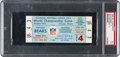 Football Collectibles:Tickets, 1963 NFL Championship Game Bears Vs. Giants Full Ticket PSA EX 5....