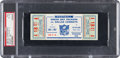 Football Collectibles:Tickets, 1966 NFL Championship Game Packers Vs. Cowboys Full Ticket PSA EX-MT 6 - Single Highest Graded Example! ...