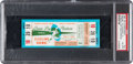 Football Collectibles:Tickets, 1965 NFL Championship Game Packers vs. Browns Full Ticket PSA EX-MT 6 - Blue Variation. ...