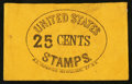 Large Size:Demand Notes, R.D. Thompson 152 William St. N.Y. 25 CENTS. PE749. Very Fine.. ...