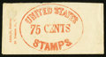 Large Size:Demand Notes, Leach Stationary 86 Nassau St. N.Y. 75 CENTS. PE383. ExtremelyFine. . ...