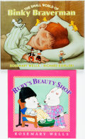 Books:Children's Books, Rosemary Wells. SIGNED. Ruby's Beauty Shop. [New York]:Viking, [2002]. [and:] The Small World of Binky Braverma...(Total: 2 Items)