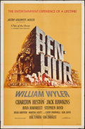 "Movie Posters:Academy Award Winners, Ben-Hur (MGM, 1959). One Sheet (27"" X 41""). Academy Award Winners.. ..."