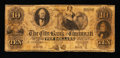 Obsoletes By State:Ohio, Cincinnati, OH- The City Bank of Cincinnati $10 May 1, 1854 . ...