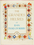 Books:Furniture & Accessories, Marcel Thomas, introduction and legends. The Grandes Heures ofJean Duke of Berry. New York: George Brazilier, [1971...