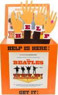 Music Memorabilia:Memorabilia, Beatles Help! Motorized Promotional Display (Capitol,1965)....