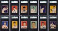 Baseball Cards:Sets, 1949 Bowman Baseball Partial Set (204/240). ...