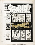 Original Comic Art:Covers, Will Eisner - Spirit #14 Cover Original Art (Warren, 1976)....