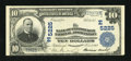 National Bank Notes:Pennsylvania, Pittsburgh, PA - $10 1902 Plain Back Fr. 632 The Bank ofPittsburgh, National Assoc Ch. # (E)5225. ...