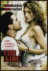 "Fair Game Lot (Warner Brothers, 1995). One Sheet (27"" X 40.5"") DS and four other One Sheets. Action. ... (Tota..."