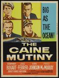 "Movie Posters:War, The Caine Mutiny (Columbia, R-1959). Poster (30"" X 40""). War. ..."