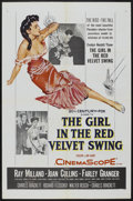"""Movie Posters:Drama, The Girl in the Red Velvet Swing (20th Century Fox, 1955). One Sheet (27"""" X 41""""). Drama. ..."""