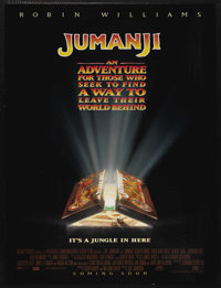 """Jumanji Lot (Columbia, 1995). One Sheet (26.75"""" X 39.75"""") Advance DS and two other One Sheets. Fantasy. ... (T..."""