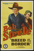"""Movie Posters:Western, Breed of the Border (Monogram, 1933). One Sheet (27"""" X 41""""). Western. ..."""