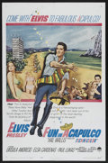 "Movie Posters:Elvis Presley, Fun in Acapulco (Paramount, 1963). One Sheet (27"" X 41""). ElvisPresley...."