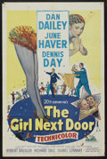 """Movie Posters:Comedy, The Girl Next Door (20th Century Fox, 1953). One Sheet (27"""" X 41""""). Comedy. ..."""