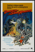 "Movie Posters:Science Fiction, Godzilla vs. the Smog Monster (American International, 1972). OneSheet (27"" X 41""). Science Fiction. ..."