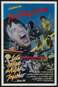 "Let's Spend the Night Together (Columbia, 1983). One Sheet (27"" X 41""). Rock and Roll"