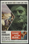 "Movie Posters:Western, Lonely Are the Brave (Universal, 1962). One Sheet (27"" X 41""). Western. ..."