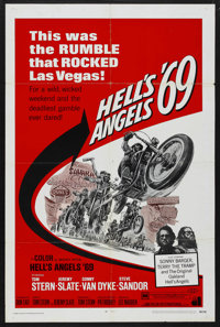 """Hell's Angels '69 (American International, 1969). One Sheet (27"""" X 41""""). Action"""