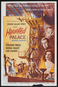 """The Haunted Palace (American International, 1963). One Sheet (27"""" X 41""""). Horror"""