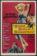 """Movie Posters:Crime, Guns, Girls and Gangsters (United Artists, 1959). One Sheet (27"""" X 41""""). Crime. ..."""