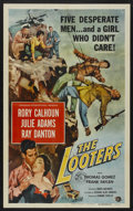 "Movie Posters:Adventure, The Looters (Universal International, 1955). One Sheet (27"" X 41"").Adventure. ..."
