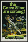 """Movie Posters:Science Fiction, The Green Slime (MGM, 1969). One Sheet (27"""" X 41""""). ScienceFiction. ..."""