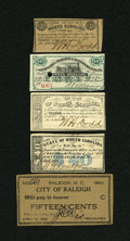 Confederate Notes:Group Lots, Southern Bond Coupons.. ... (Total: 5 items)