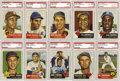 Baseball Cards:Lots, 1953 Topps PSA-Graded Collection (70). Fantastic assortment ofPSA-graded cards from the 1953 Topps series, great break down...