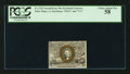 Fractional Currency:Second Issue, Minor Offset Error Fr. 1322 50¢ Second Issue PCGS Choice About New 58.. ...
