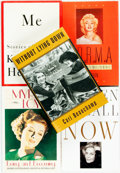 Books:Biography & Memoir, Group of Five Biographies About Film Actresses. Various publishersand dates. Includes three autobiographies written by Kath...(Total: 5 Items)